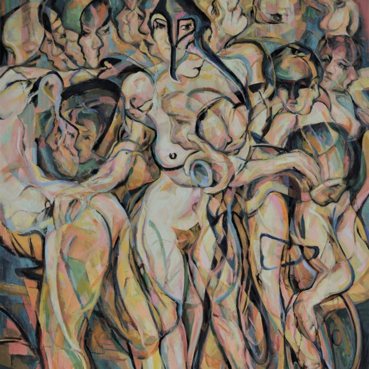 2019 oil on canvas 160.5 cm x 118 cm / Imperial?