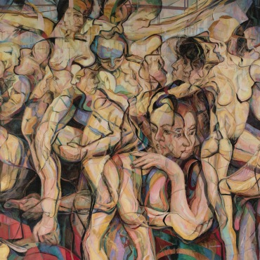 2019 Oil on Canvas 199 cm x 175.5 cm / 78.34' x 69.09'