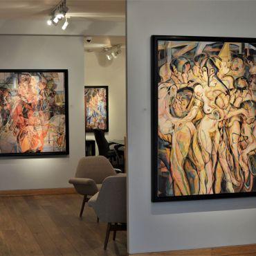 2019 Waterhouse and Dodd Gallery, London